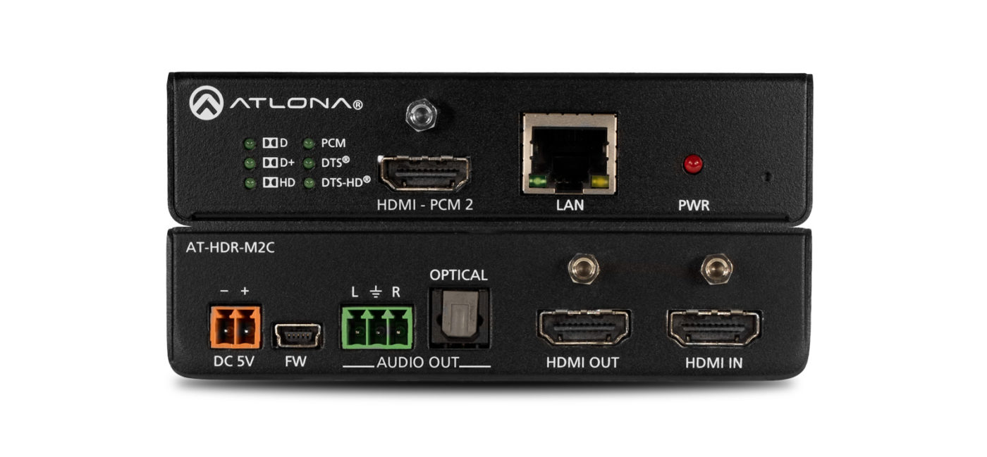 Atlona AT-HDR-M2C - HDMI Audio De-Embedder