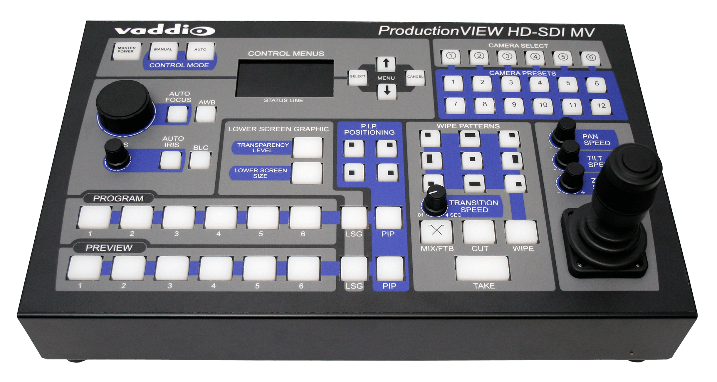 ProductionVIEW HD-SDI MV - Switcher/ Kamera Controller