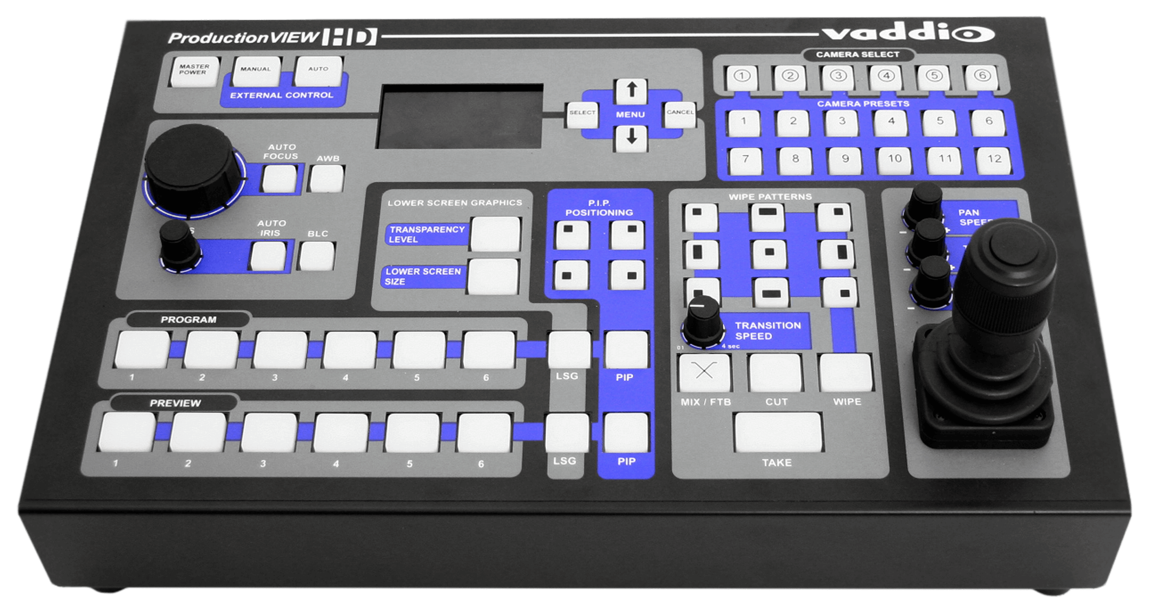 ProductionVIEW HD - Switcher/ Kamera Controller